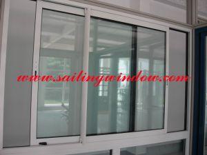 Aluminium Sliding Window - Thermal Break Aluminium Window pictures & photos