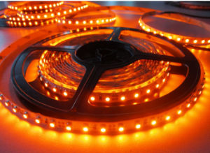 Amber DC12V IP67 5m LED Strips pictures & photos