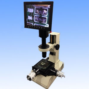 Measuring Microscope Monocular Video with LED Screen Digital Camera pictures & photos