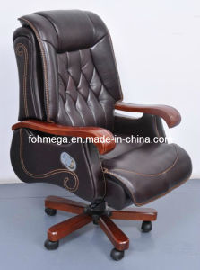 Dark Brown Executive Office Leather Chair for CEO (FOH-B14001) pictures & photos