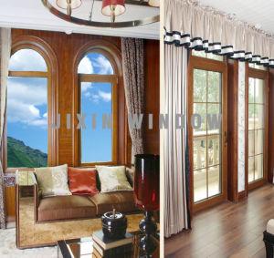 Wooden Door Window