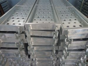 Steel Scaffolding Planks for Frame System pictures & photos