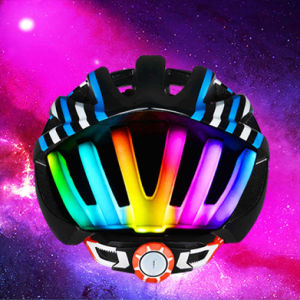 2016 Outdoor LED Light Bicycle Parts Flashing Helmet pictures & photos