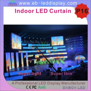 P16 Indoor LED Curtain Display for Rental pictures & photos