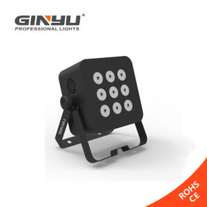 LED Disco Stage Lighting Equipment RGBWA Power Light