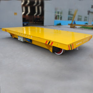 Heavy Load Motorized Transfer Trolley for Spray Booth (KPX-15T) pictures & photos