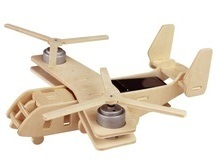 Wooden Puzzle Solar Aircraft pictures & photos