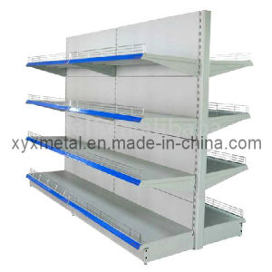 Classic Standard Supermarket Gondola Retail Shelving (JS-034) pictures & photos