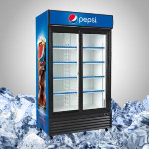 Commercial Glass Door Merchandiser Refrigerator pictures & photos