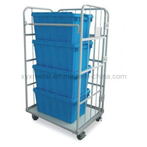 2015 Foldable Roll Pallets Container with Wheel Hot Selling pictures & photos