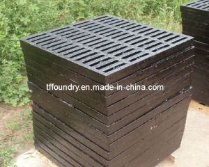 South Korea Ductile Iron Trench Grating for Drainage Project