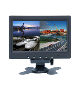 7 Inch Quad-Screen CCTV LCD Monitors