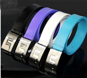 Purple Golf Leather Belt Unisex/ Blue Belt pictures & photos