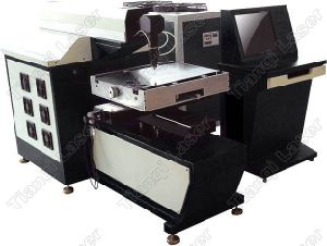 500W YAG Automatic Laser Cutting Machine
