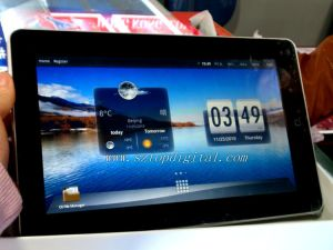 10.2 Inch Ultra-Thin With GPS With 3.1m Camera Touch PC (PD998)