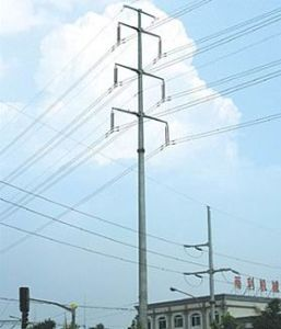 220kv Steel Monopole Transmission Tower (NTSMT-009)