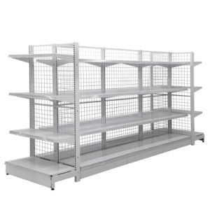 Metal Supermarket Grocery Display Gondola Wire Shelving pictures & photos