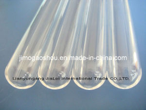 One End Closed Clear Quartz Tube pictures & photos