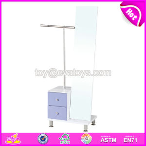 Wholesale New Design Modern Wooden Mirrored Bedroom Furniture W08h080 pictures & photos
