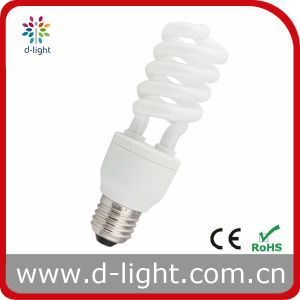 18W Semi Spiral Compact Fluorescent Lamp pictures & photos