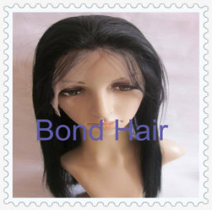 Hand Tied Human Hair Full Lace Wigs pictures & photos