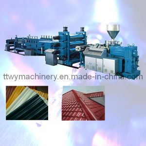 PVC Roof Tile Production Equipment pictures & photos