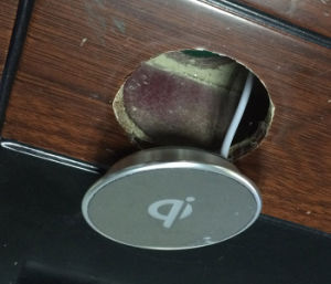 Wireless Charger for Desk Designed to Embedded Into Your Furniture pictures & photos