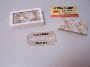 Perma-Sharp Razor Blade