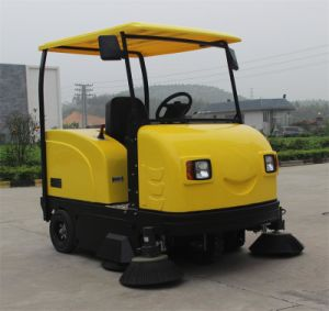 Factory Provide Electric Street Sweeper / Road Sweeper with Cabin pictures & photos
