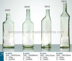 Transparent Rum Bottle / Transparent Drink Bottle pictures & photos