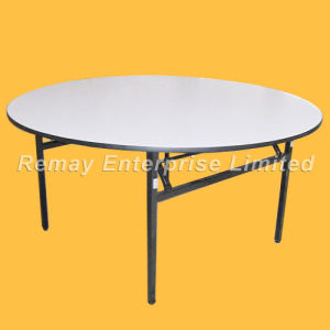 PVC Cover Folding Table (T91) pictures & photos
