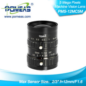"2/3"" Fl12mm Machine Vision Lens with High Resolution"