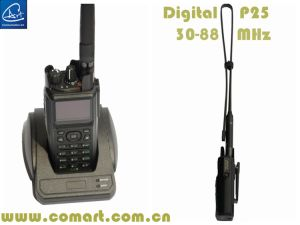 Low Band Army Digital Handheld Radio, Low VHF 30-88MHz in Digital and Anlaog Dual Mode