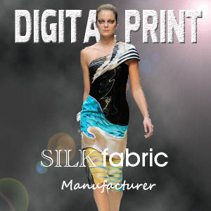2017 New Custom Digital Printed Fabric pictures & photos