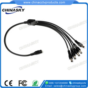 DC 1 to 5 Power Splitter Cable Y Adapter (SP1-5) pictures & photos