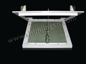 Gypsum Access Panel With Pushing Lock and Wire Hook (GAC Series)