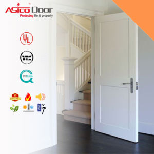 White Painted Classic Luxury Interior Solid Wooden/Timber Door pictures & photos
