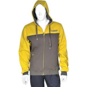 High Quality Men′s Fleece Hooded Jacket pictures & photos