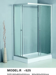 Glass Sliding Door Shower Enclosure (R -525)