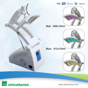 3 Color LED Light PDT for Skin Rejuvenation Beauty Machine pictures & photos