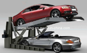Two Level Vertical Hydraulic Car Parking China Design