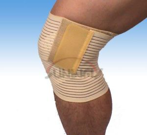 Sporting Knee Brace Protective Bandage Knee Support (BS003) pictures & photos