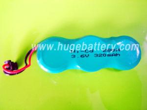 3.6V 320mAh Ni-CD (Nickel Cadmium) Button Cell pictures & photos