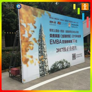 Outdoor Advertising PVC Frontlit Flex Promotional Banner pictures & photos