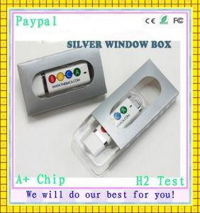 USB Flash Drive with Silver Window Box (GC-S522) pictures & photos