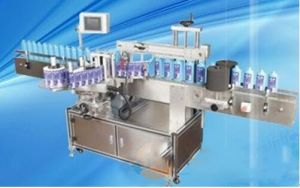 Fully Automaticsingle Side Round Bottle Labeling Machine pictures & photos