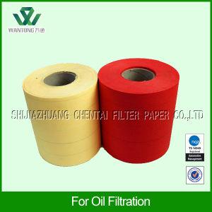 Wood Pulp Diesel Light Duty Oil Filter Paper