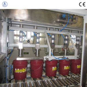 Fully Automatic Oil Filling Machine for The Exxonmobil (ISO9001, CE)