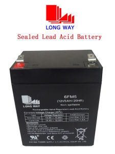12V5ah Toy Cars Rechargeable Valve Regulated Lead Acid Battery pictures & photos