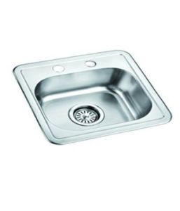 Stainless Steel Welded Bowl Sink - 5